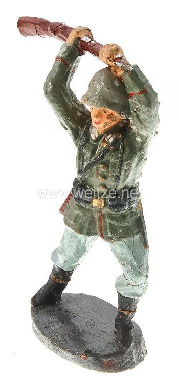 Elastolin - Heer Soldat mit Gewehr zuschlagend