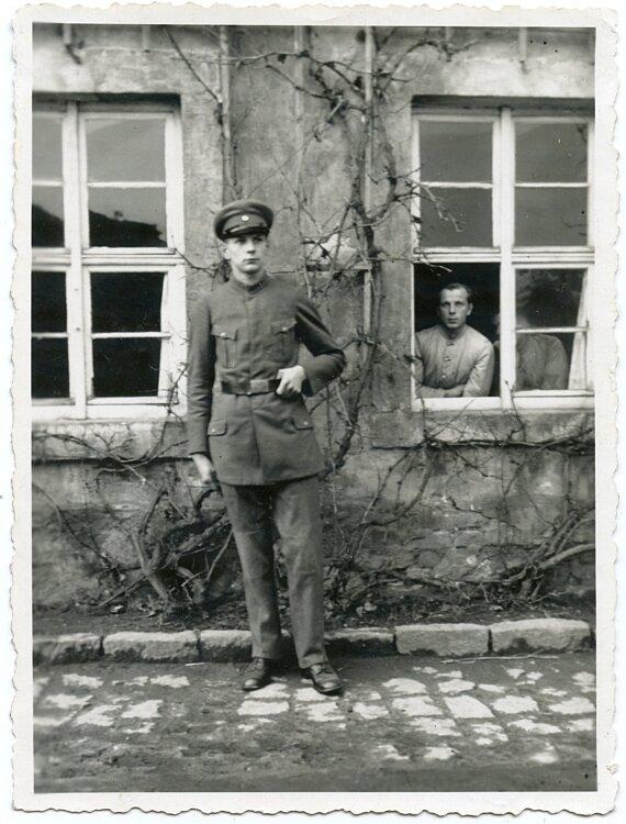 Foto, Angehöriger des Freiwilligen Arbeitsdienst Wartenburg 1932