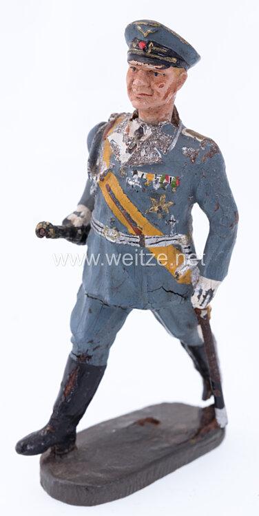 Elastolin - Reichsmarschall Hermann Göring gehend mit beweglichen Arm tragend den Marschallstab