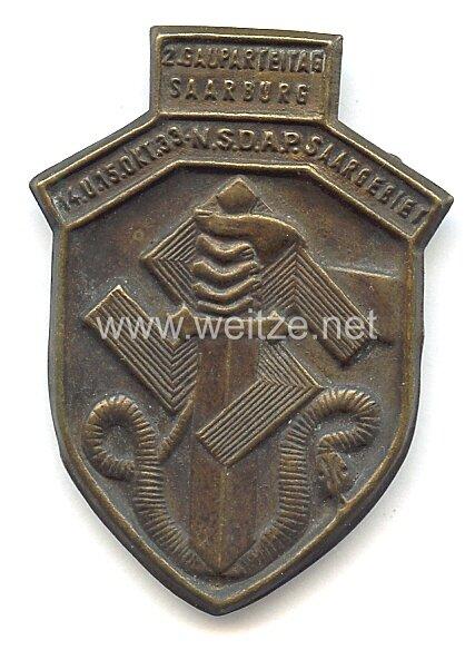 NSDAP - 2. Gauparteitag Saarburg 14. u. 15. Okt. 1933 Saargebiet