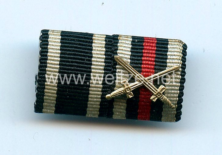 Bandspange einen Veteranen des 1. Weltkriegs