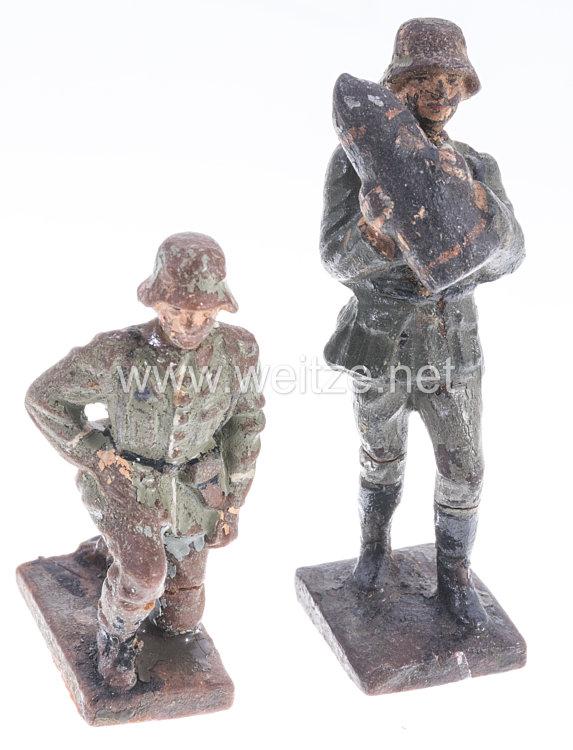 Lineol - Heer Ladewart und Mann am Abzug für die Minenwerfergruppe