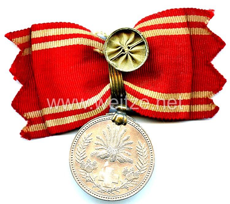 Japan, Rot Kreuz Medaille für lebenslange Mitglieder für Frauen