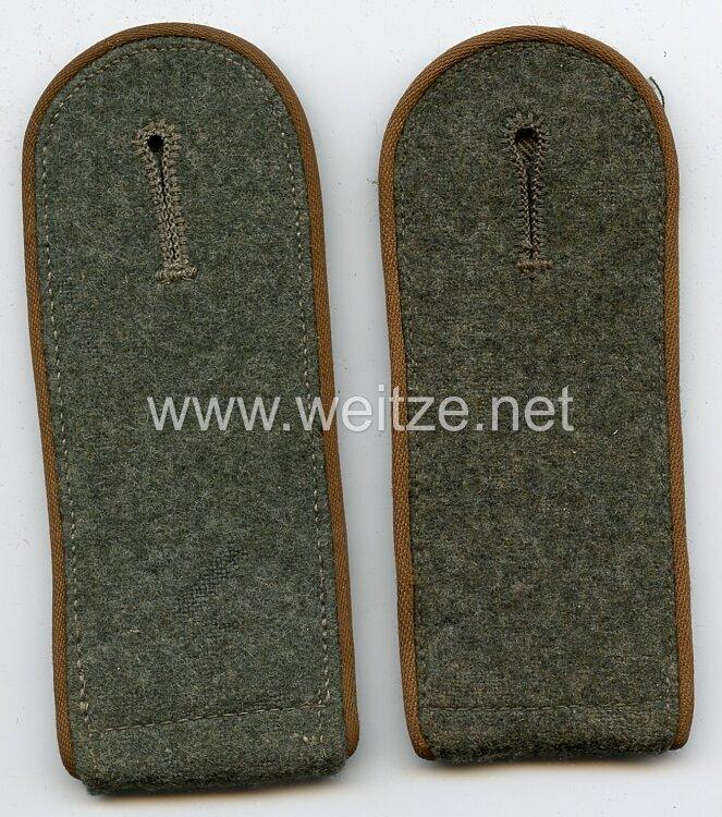 Wehrmacht Heer Paar Schulterklappen Mannschaft der Kradschützen-Abteilungen