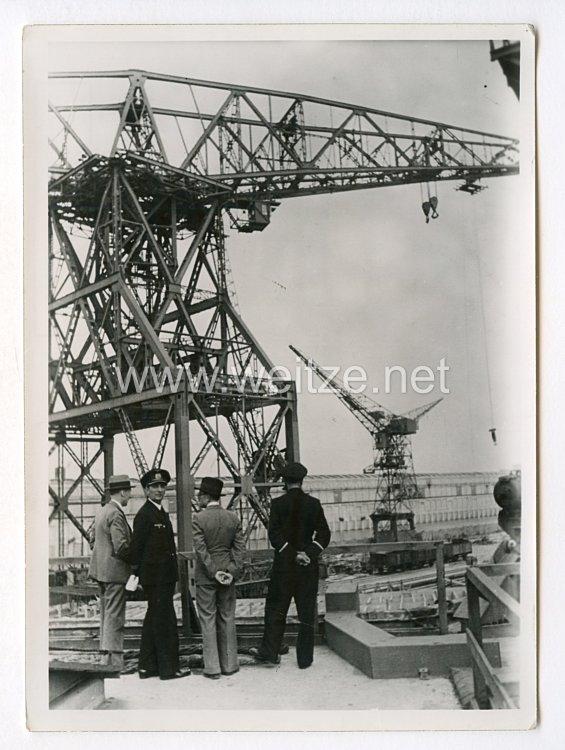 Pressefoto, BesetzungFrankreichs1940: St. Nasaire.