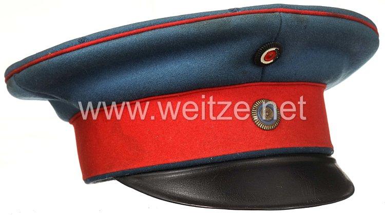 Bayern Schirmmütze für einen Offizier im 1. bzw. 2. Schweren Reiter-Regiment