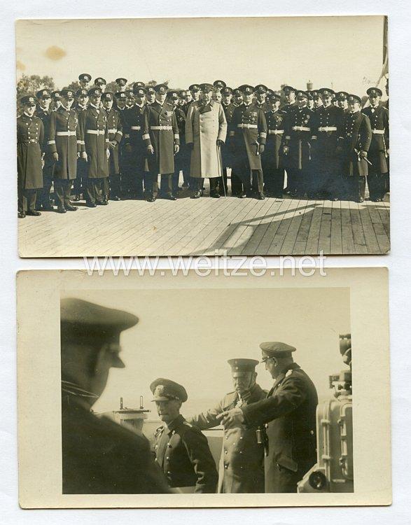 """Weimarer Republik Fotos,Paul von Hindenburg auf dem Linienschiff """"Schleswig-Holstein"""""""