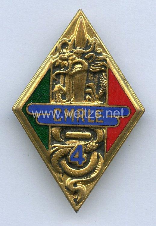 Frankreich Fremdenlegion Indochina Abzeichen 4.CMRLE (Werkstatt)