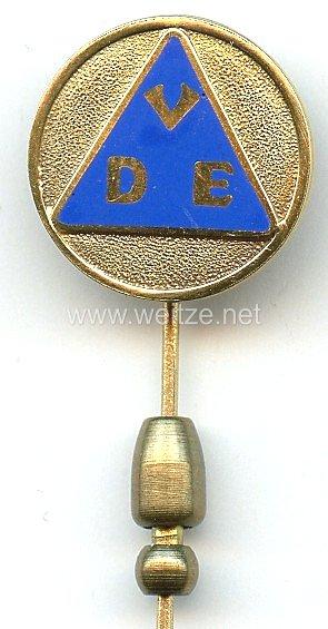Verband Deutscher Elektrotechniker e.V. ( VDE ) - Goldene Ehrennadel in Echtgold