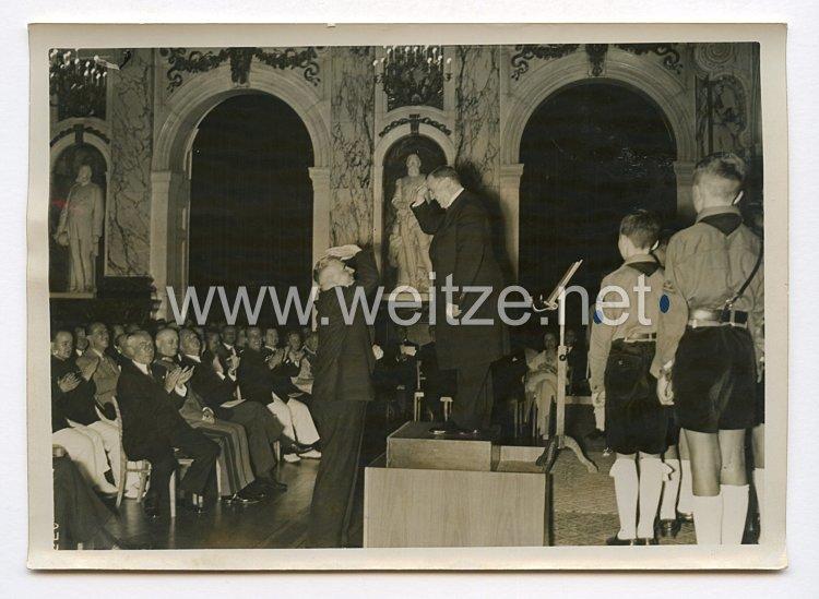 III. Reich Pressefoto. Internationaler Kongress für Berufliches Bildungswesen. 27.7.1938.