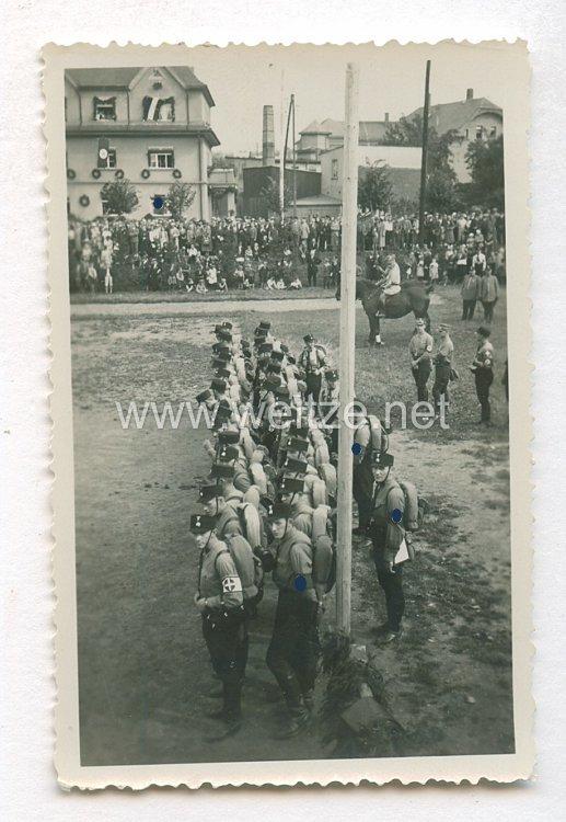 Allgemeine-SS Foto, SS-Männer zum Antritt