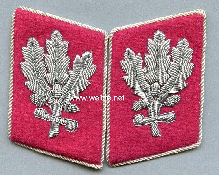 Paar Kragenspiegel für einen SA-Brigadeführer im Stab der Obersten SA-Führung