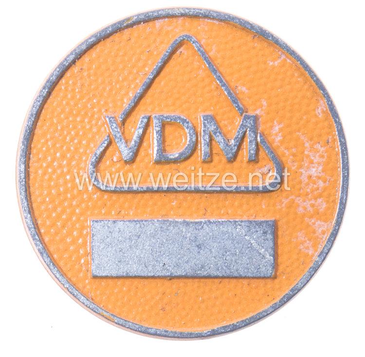 Werksabzeichen für Zivilangestellte der Vereinigte Deutsche Metallwerke AG (VDM)