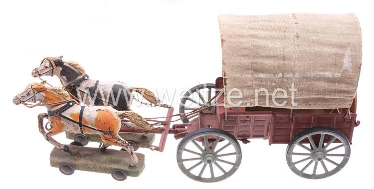 Blechspielzeug - Planwagen