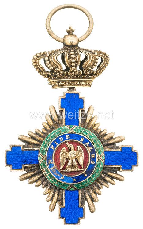 Orden vom Stern Rumäniens 1. Modell (1877 - 1932) Ritterkreuz