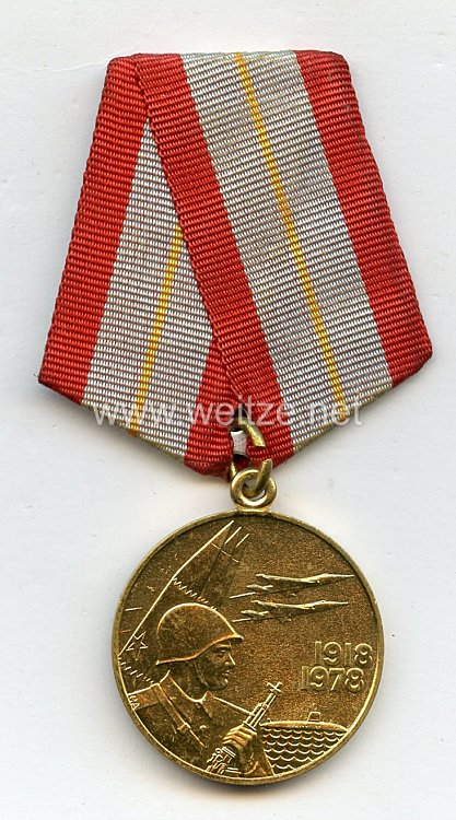 Sowjetunion Jubiläum Medaille: 60 Jahre Sowjet Armee