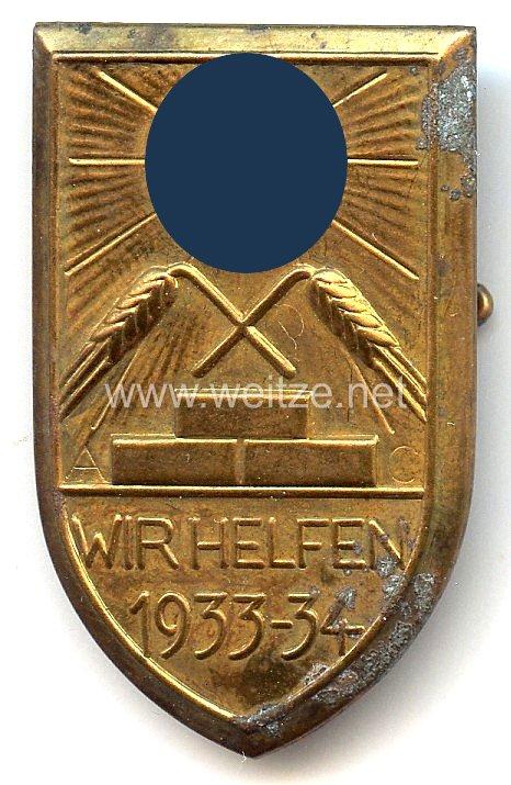 III. Reich - WHW - Wir helfen 1933-1934