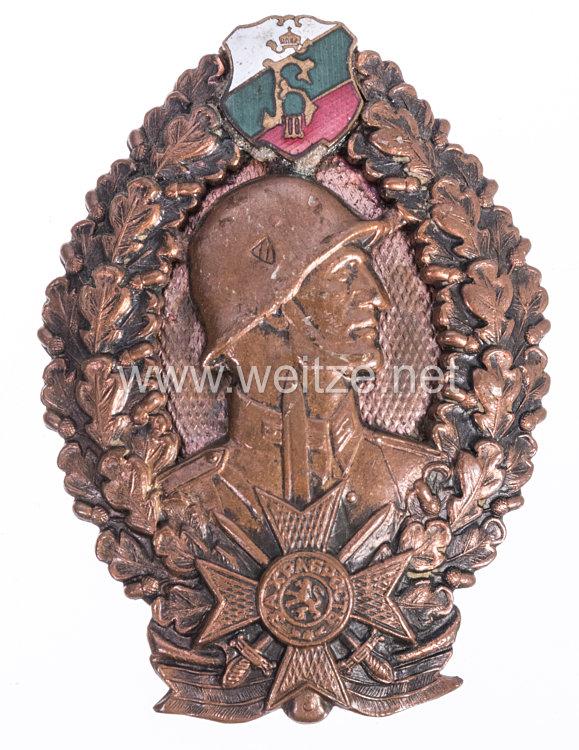 Bulgarien 2. Weltkrieg Infanteriesturmabzeichen in Bronze