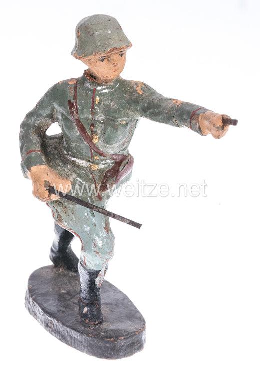 Elastolin - Heer Offizier im Sprung