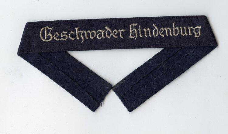 """Luftwaffe Ärmelband """"Geschwader Hindenburg"""" für Mannschaften"""