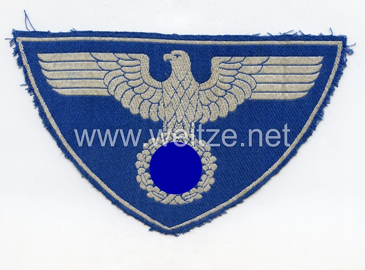 """Reichspost großer Brustadler für das Sporthemd """"Zeesener Adler"""""""