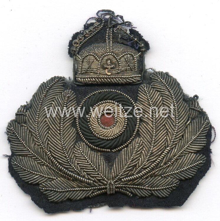 Kaiserliche Marine Schirmmützenabzeichen für Beamte