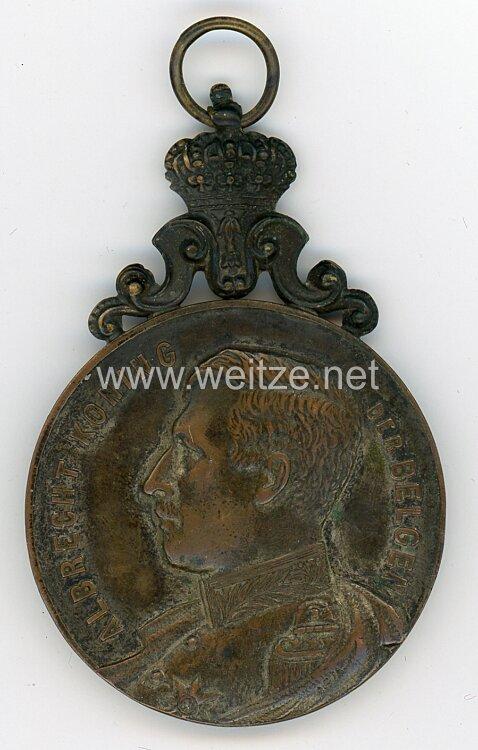 "Belgien Medaille ""Albrecht Koning der Belgen"""