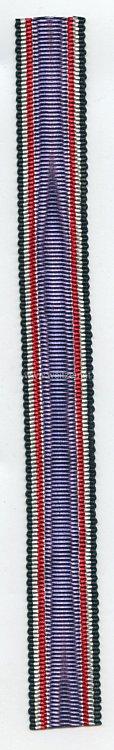 Originales Band für die Miniatur Luftschutz-Ehrenzeichen 1. und 2. Klasse
